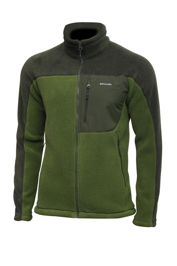 Zelená pánská mikina Impact jacket, Pinguin