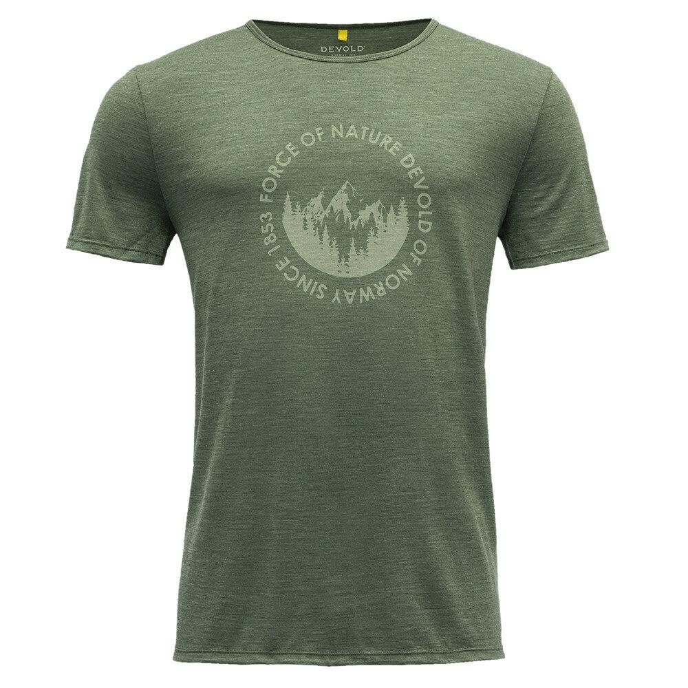 Merino tričko Devold LEIRA MAN TEE - velikost S