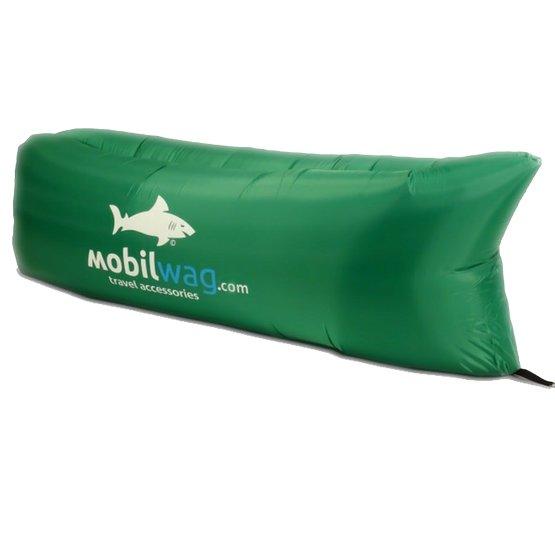 Zelené nafukovací lehátko lazy bag, Mobilwag