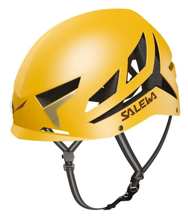 Žlutá horolezecká helma Vayu, Salewa