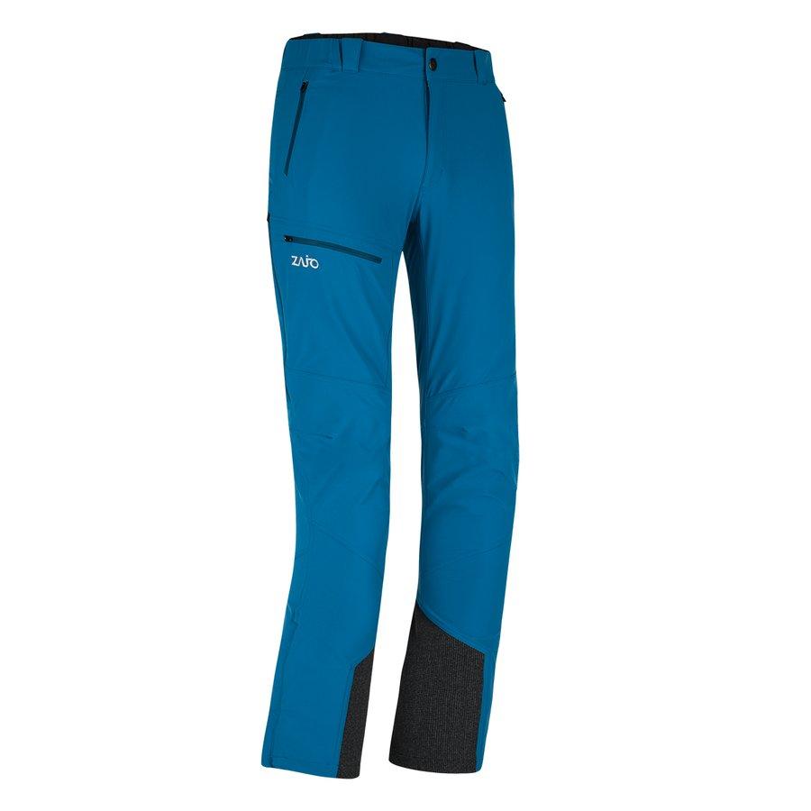 Modré softshellové pánské kalhoty Argon Neo Pants, Zajo