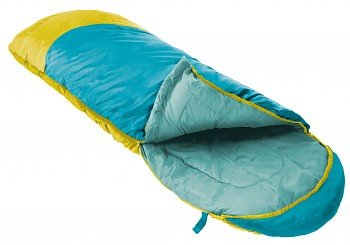 Modrý letní dekový dětský spacák s levým zipem PARROT 300, Prima