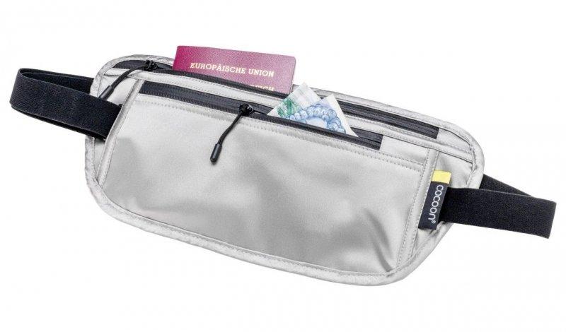 Šedá skrytá bezpečnostní ledvinka Secret Waist Wallet, Cocoon