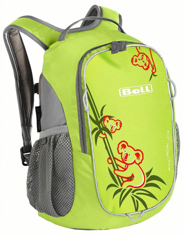 Zelený městský dětský batoh KOALA 10, Boll - objem 10 l