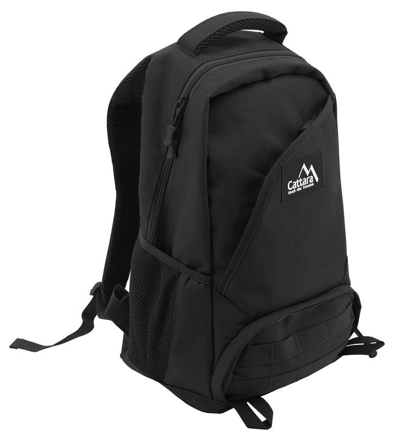 Černý městský batoh BLACK WIN, Cattara - objem 30 l