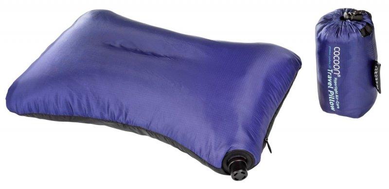 Nafukovací polštář Air-Core Microlight dark blue, Cocoon