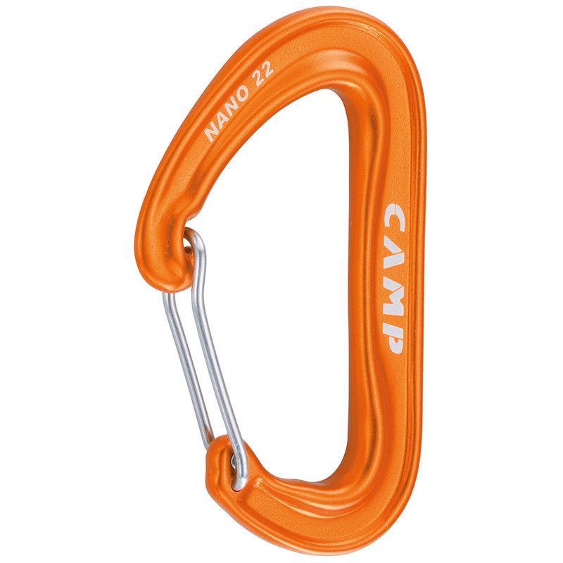Oranžová drátová karabina Nano 22, Camp
