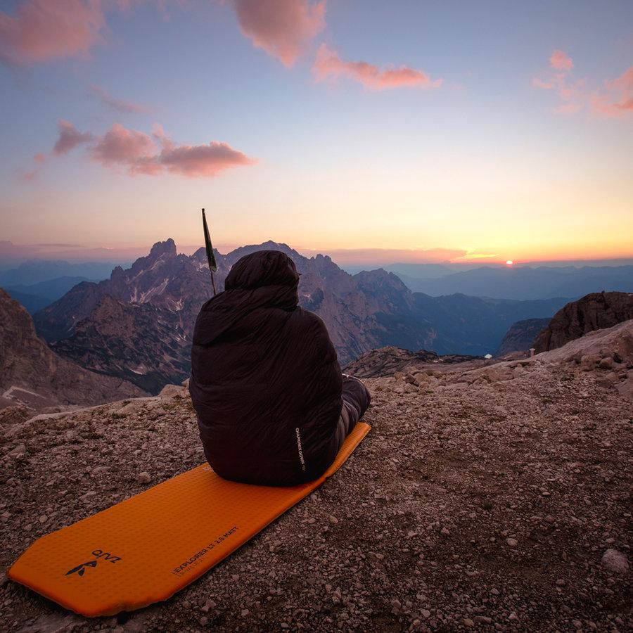 Péřový spacák Chamonix Down -10 Regular, Zajo - délka 185 cm