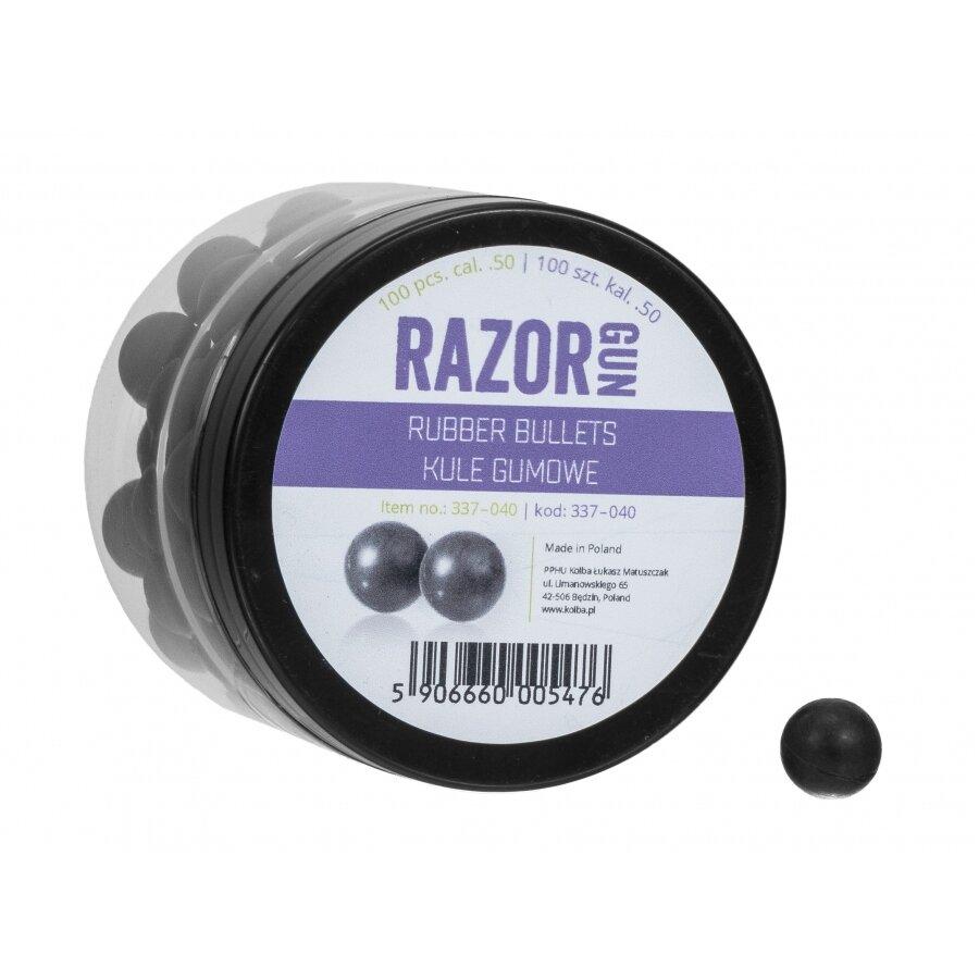 Kuličky RAM gumové RazorGun 0.5 100 ks
