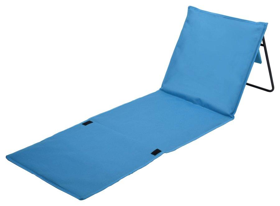Modré kempingové lehátko KORFU