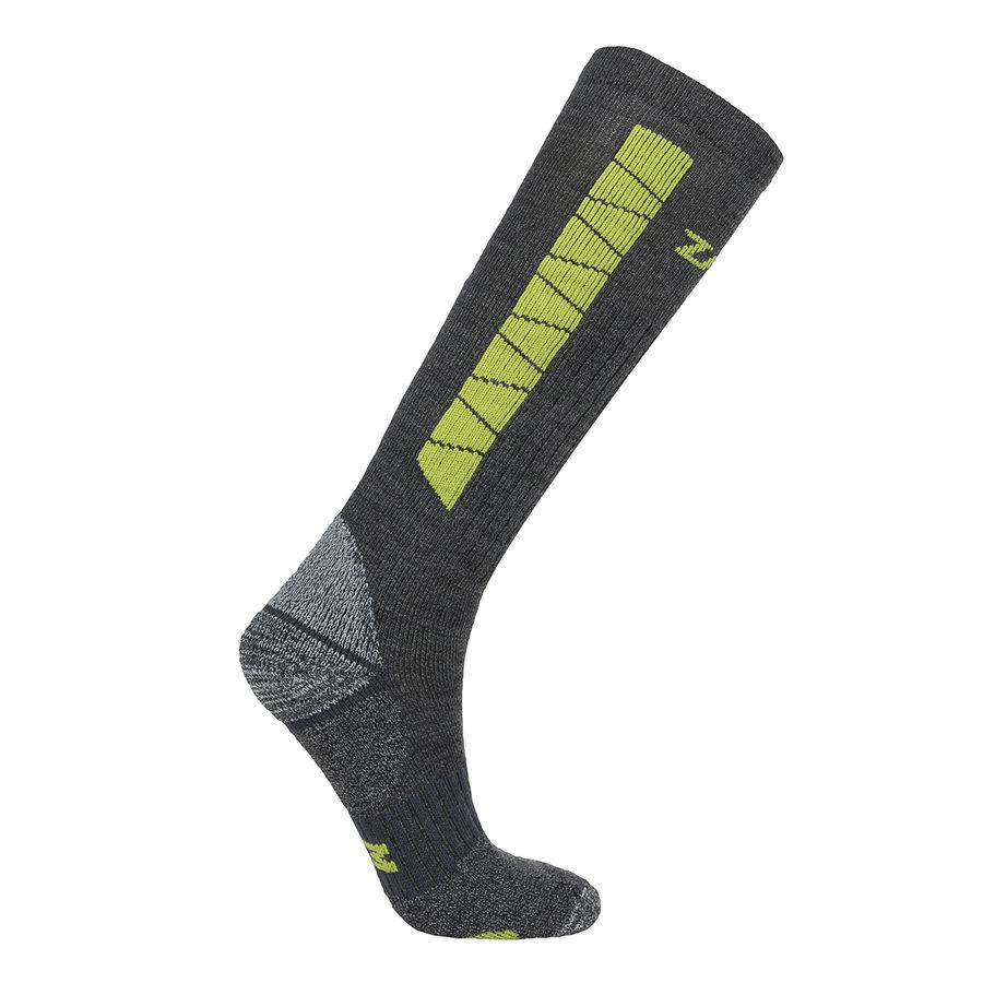 Šedé ponožky Heavy Outdoor Socks Long, Zajo - velikost L