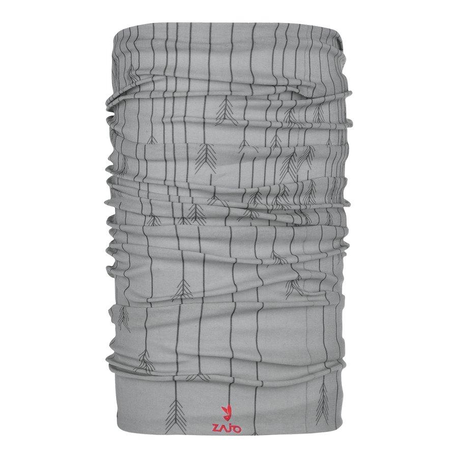 Šedý funkční šátek Unitube, Zajo