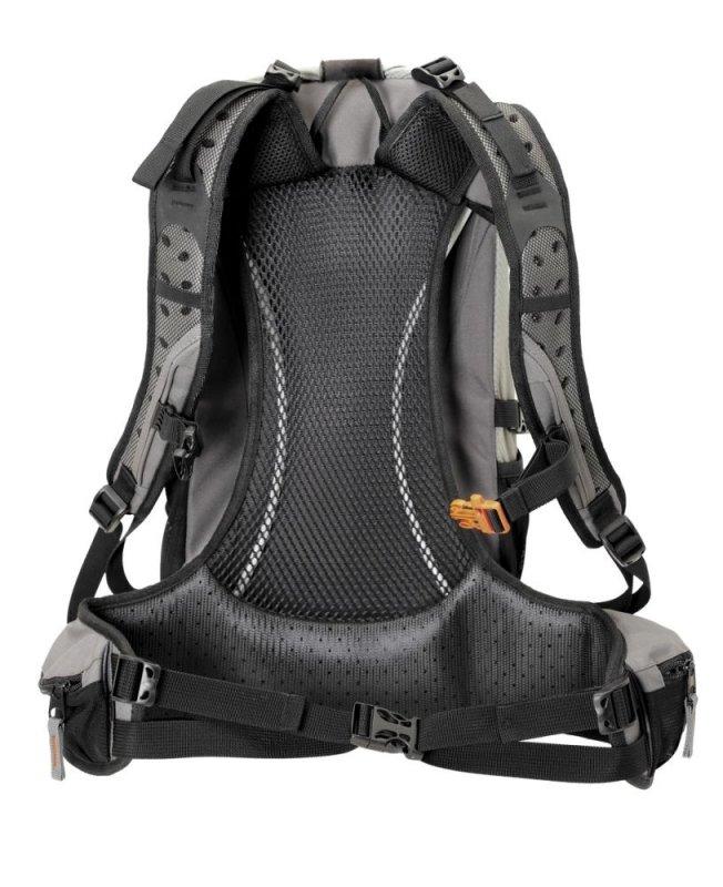 Šedý turistický batoh Greyhound, TravelSafe - objem 27 l