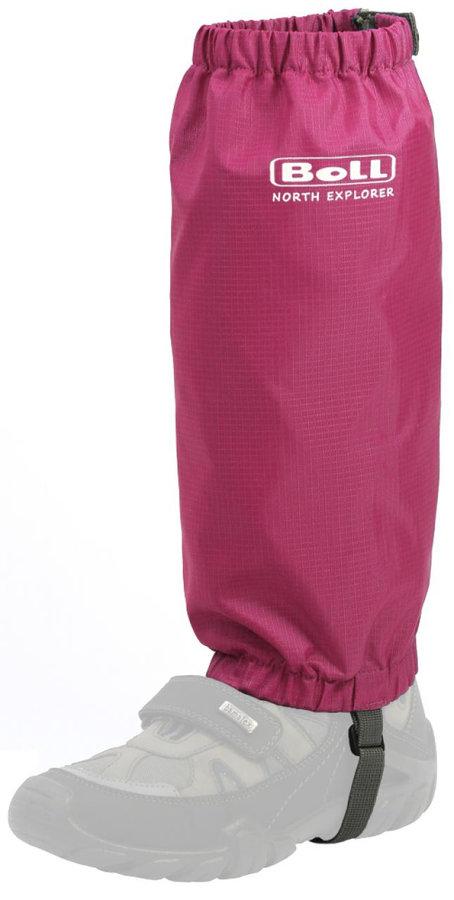 Růžové dětské návleky Kids Gaiter, Boll - velikost L