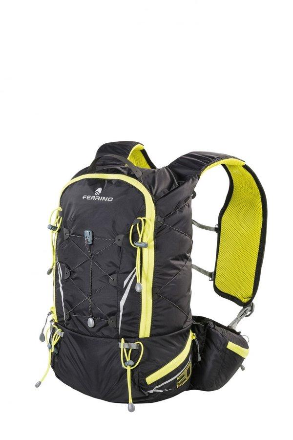 Černý běžecký batoh X-TRACK 20, Ferrino - objem 20 l