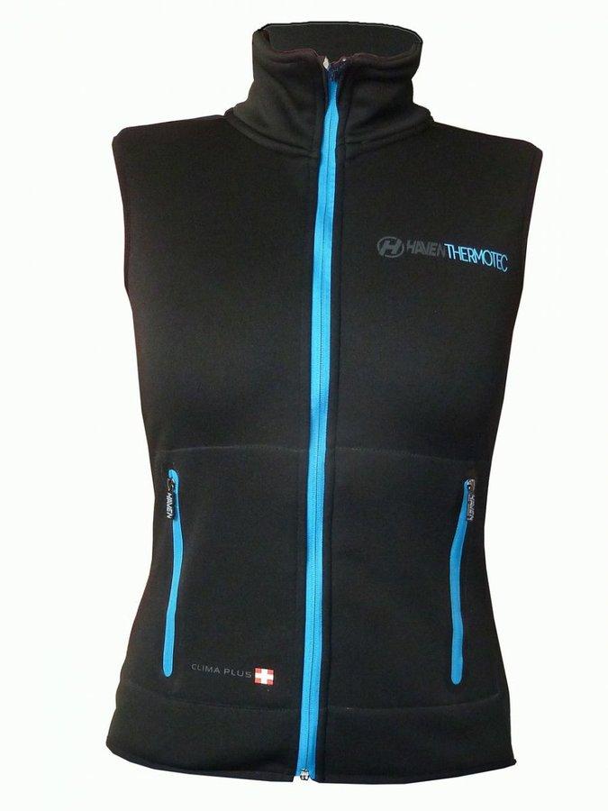 Černá pánská vesta Thermotec, Haven