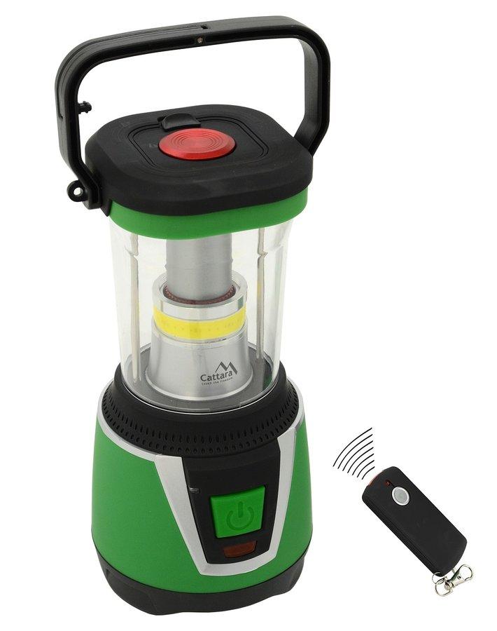 Kempingová svítilna LED 300lm CAMPING REMOTE CONTROL, Cattara