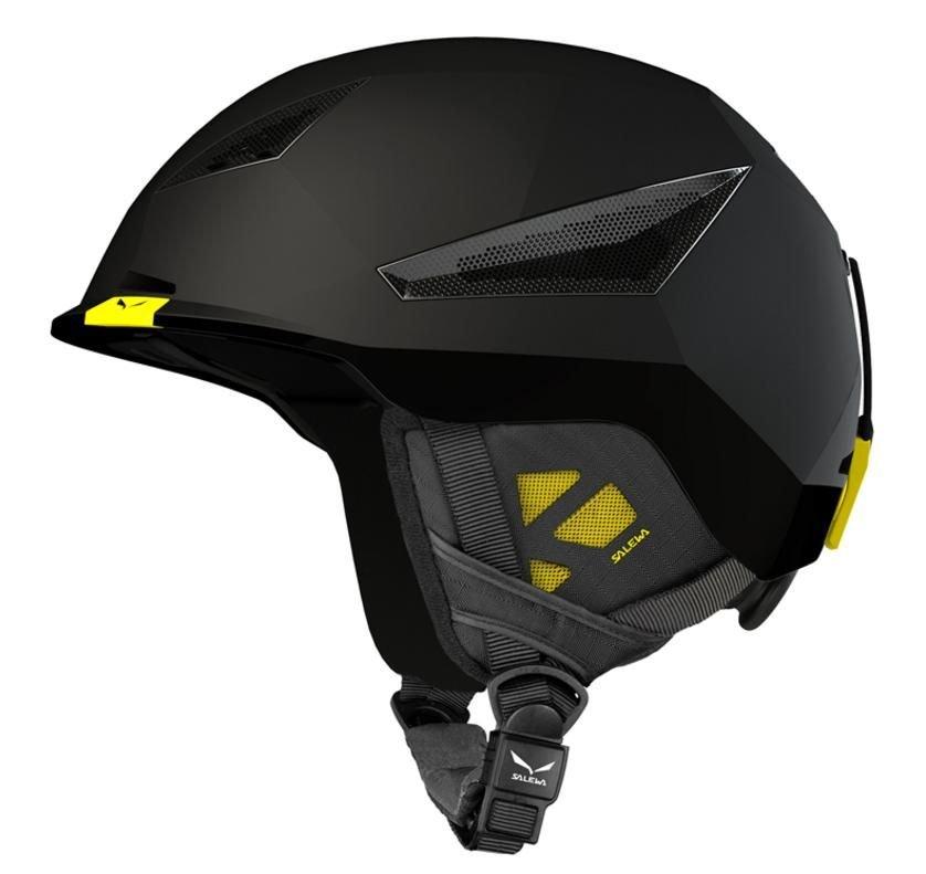 Černá skialpová helma Vert, Salewa