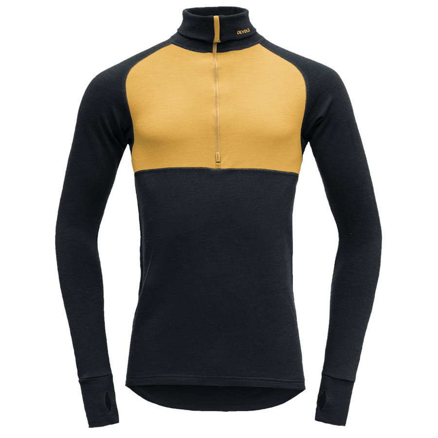 Merino pánské tričko Expedition Man Zip Neck, Devold