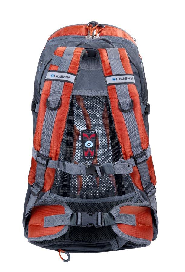 Oranžový turistický batoh Salmon 30l, Husky - objem 30 l