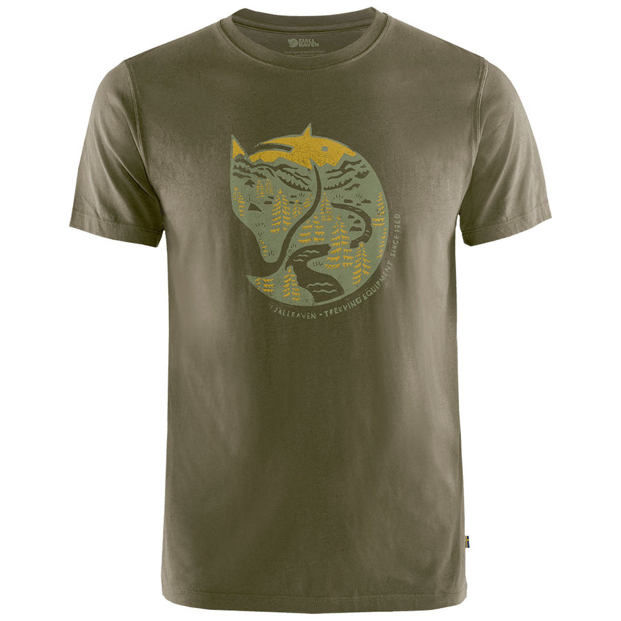 Bavlněné pánské tričko Arctic Fox T-Shirt M, Fjällräven - velikost L