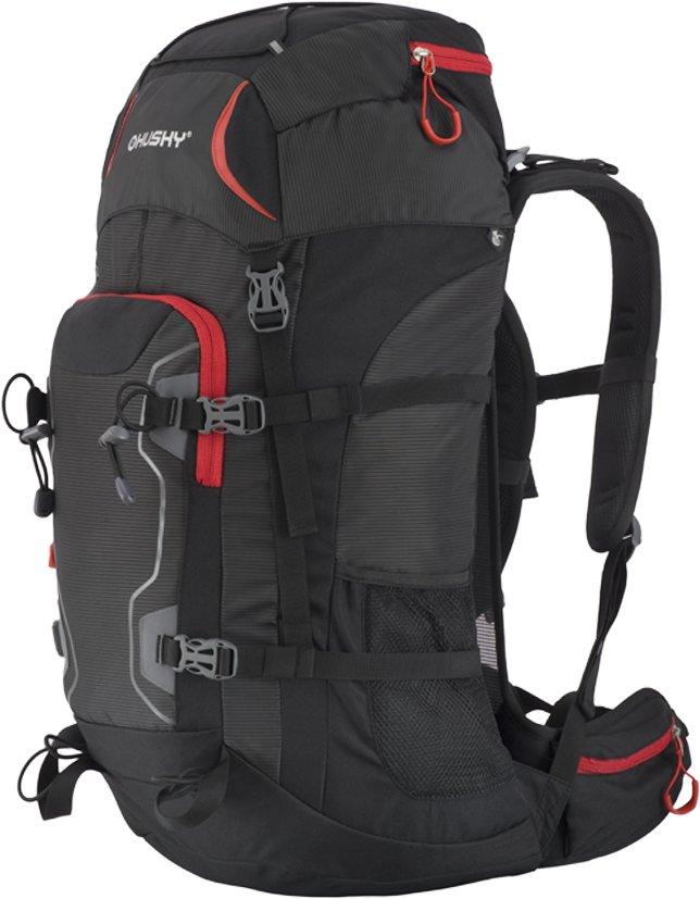 Černý turistický batoh Sloper 45 l, Husky - objem 45 l