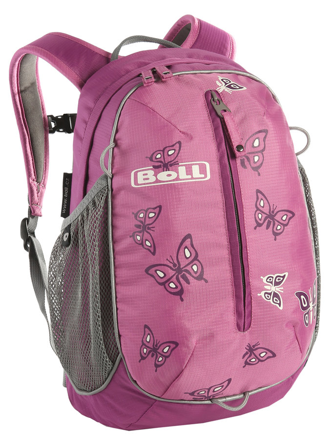 Růžový dětský batoh Roo 12, Boll - objem 12 l