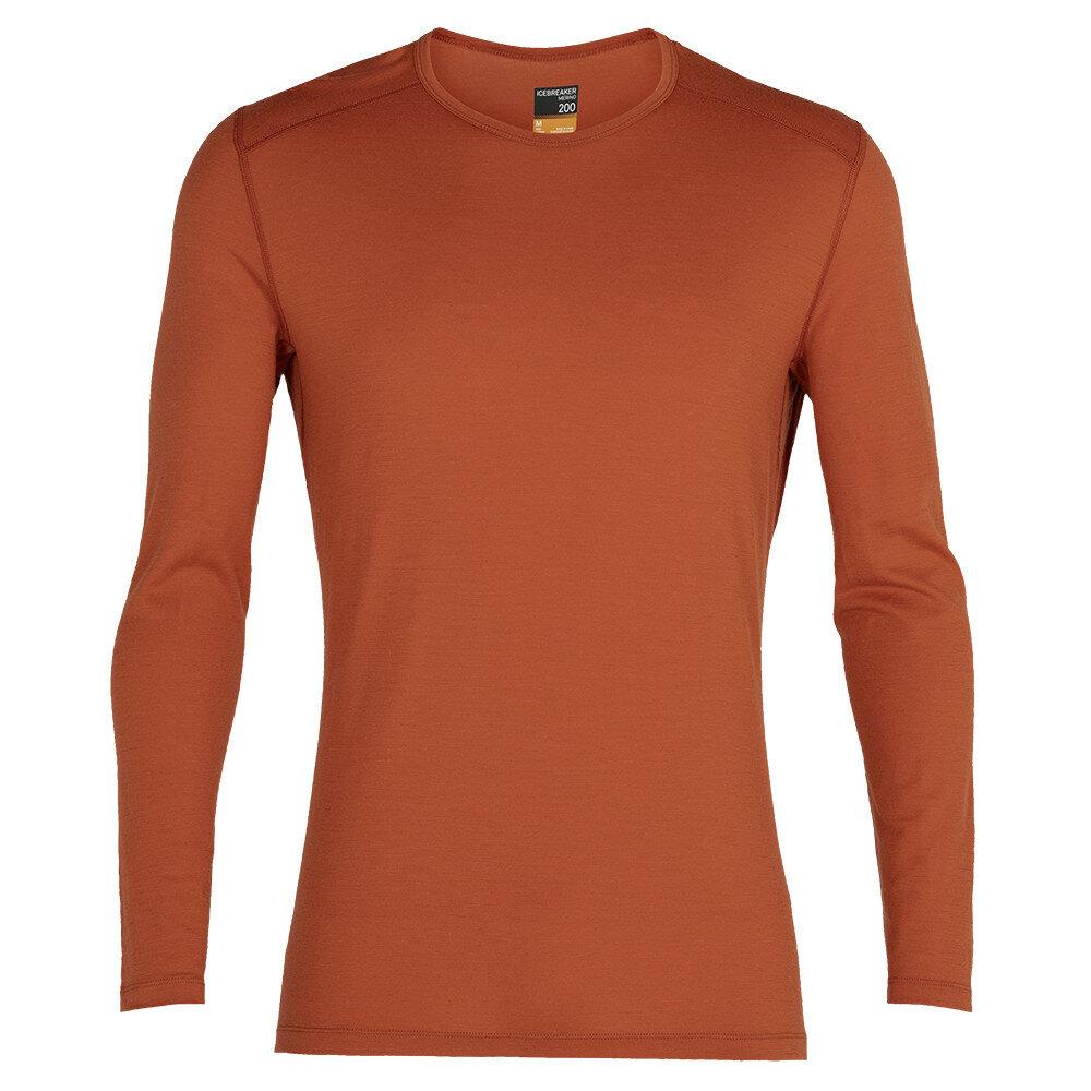 Merino pánské tričko Icebreaker 200 Oasis LS Crewe - velikost L