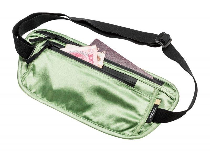 Zelená skrytá bezpečnostní ledvinka Secret Waist Wallet, Cocoon