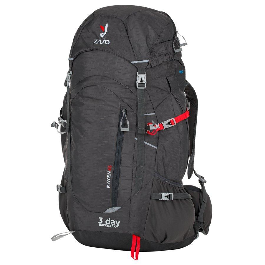 Šedý batoh Mayen 45, Zajo - objem 45 l