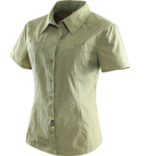 Zelená dámská košile s krátkým rukávem larien lady, Hannah - velikost L