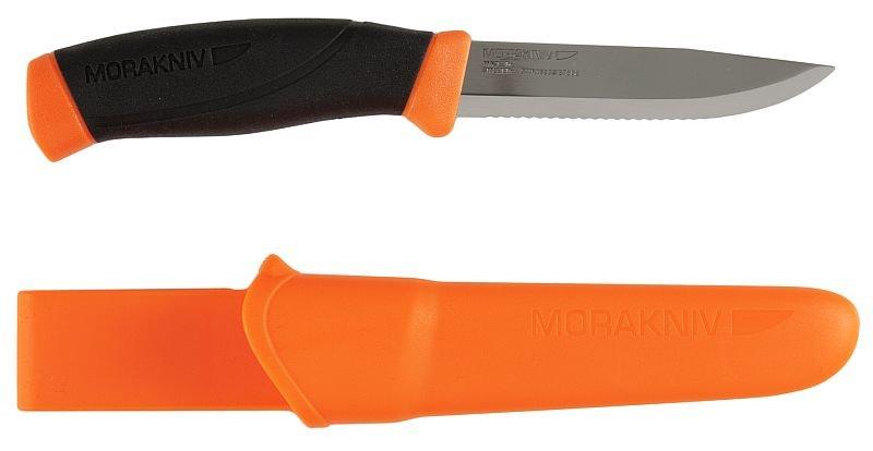 Nůž s pevnou čepelí Companion F Serrated, Morakniv