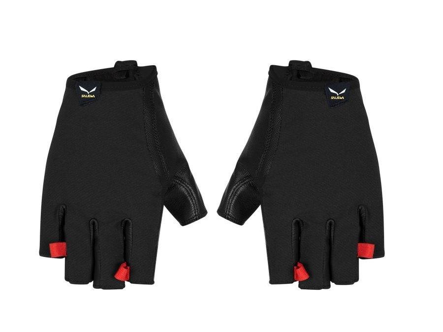 Černé lezecké rukavice Agner Vf DST, Salewa