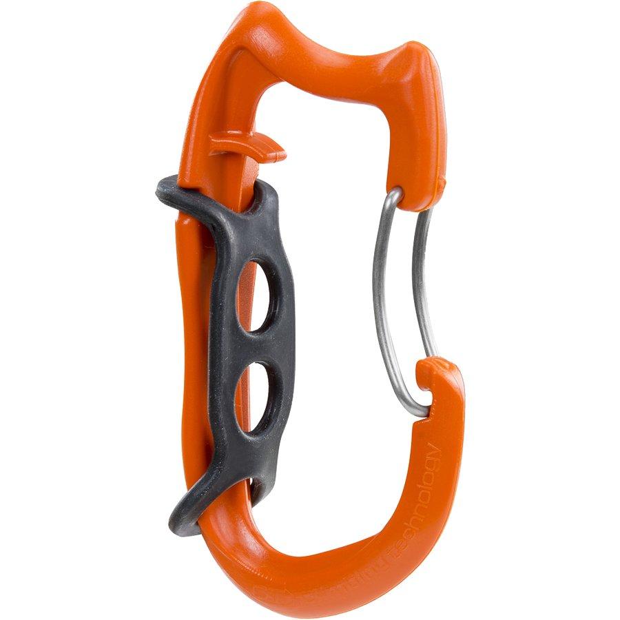 Oranžová pomocná karabina TRUCK-HARNESS TOOL HOLDER, Climbing Technology