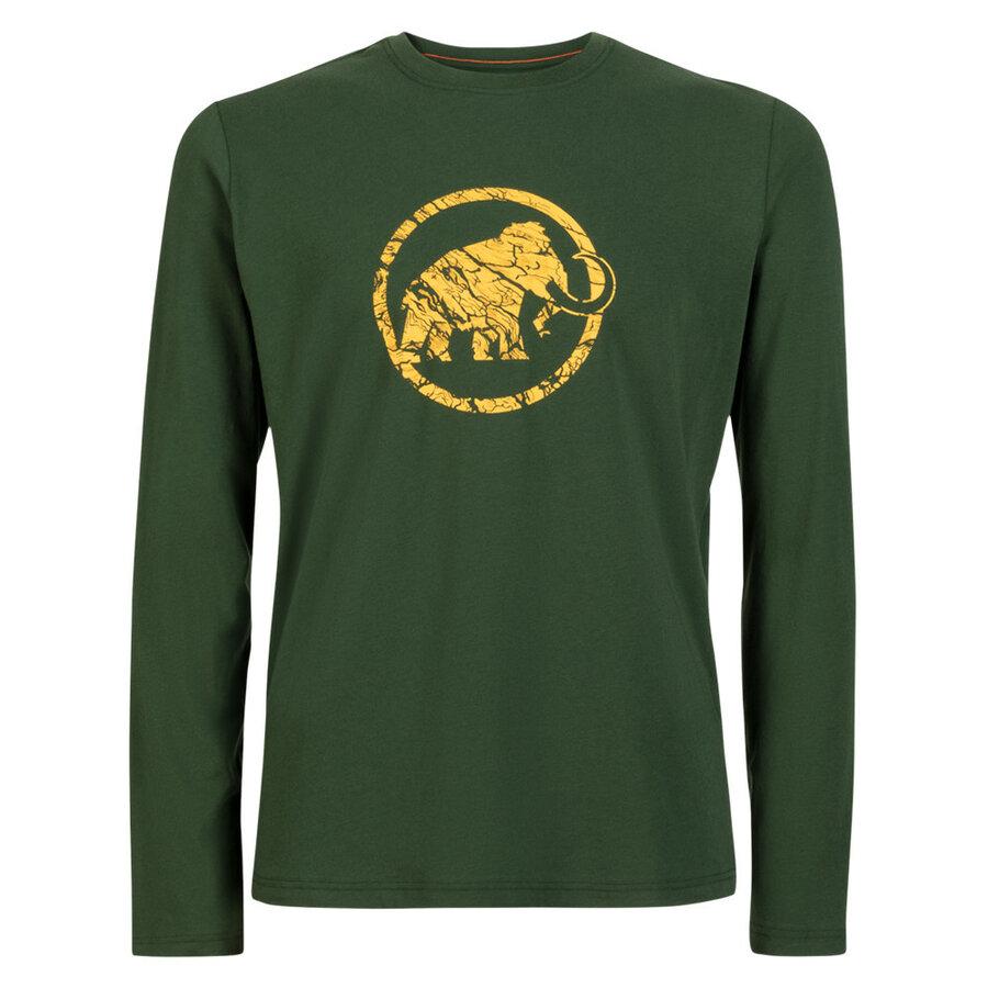 Pánské tričko Mammut Mammut Logo Longsleeve Men - velikost M