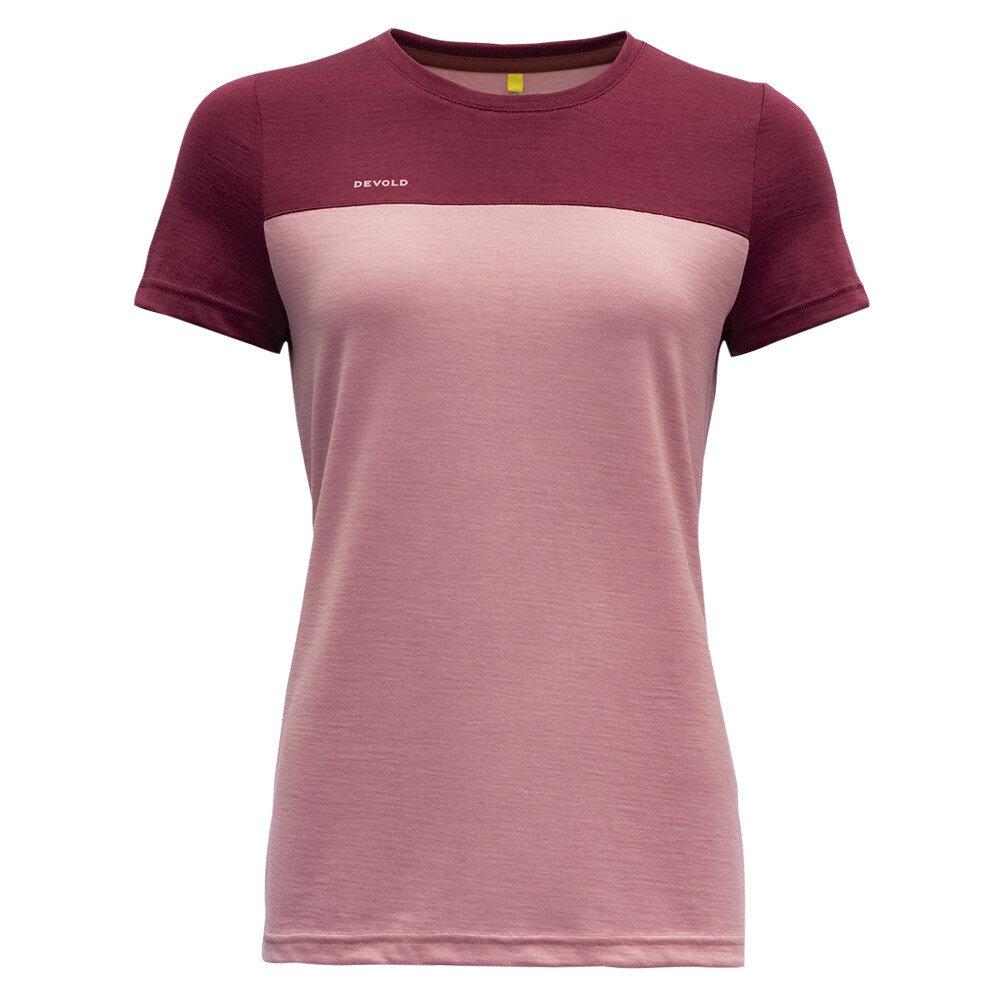 Merino tričko Devold NORANG WOMAN TEE - velikost XS