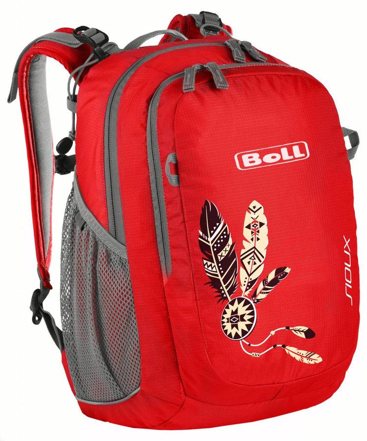 Červený dětský batoh Sioux 15, Boll - objem 15 l