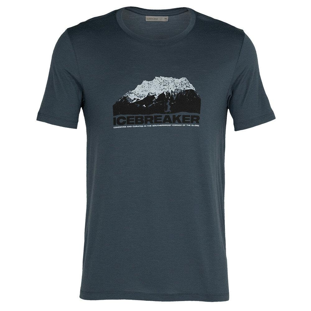 Merino pánské tričko Icebreaker Tech Lite SS Crewe Icebreaker Mountain