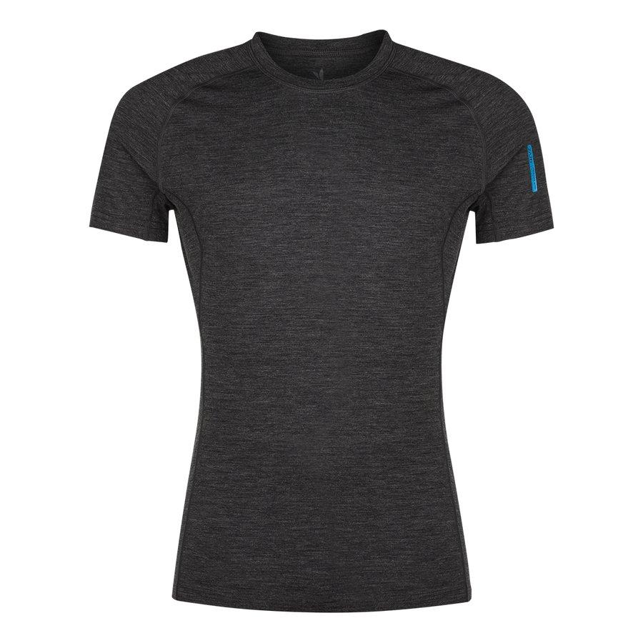 Černé pánské tričko Bjorn Merino Tshirt SS, Zajo - velikost XL