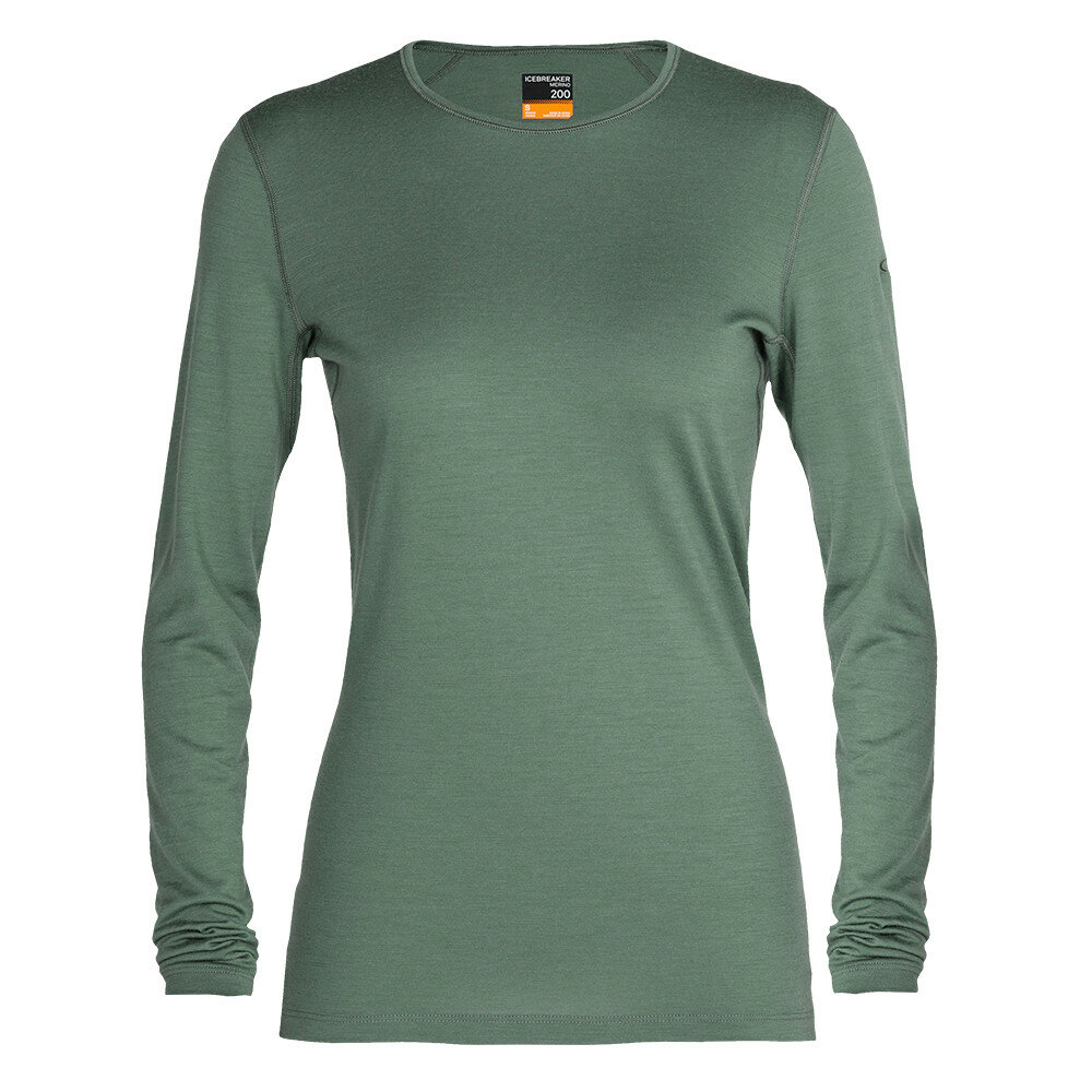 Merino dámské tričko Icebreaker 200 Oasis LS Crewe