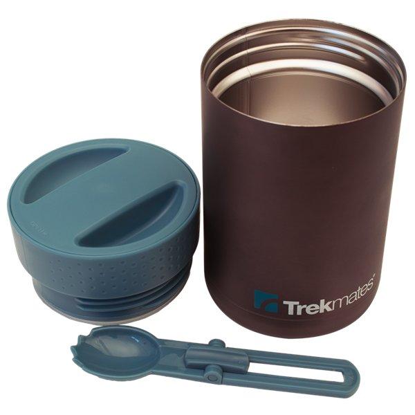 Černá termoska na jídlo Food flask, Trekmates - objem 0,5 l