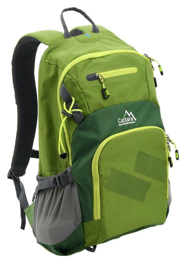 Zelený turistický batoh GREEN, Cattara - objem 28 l
