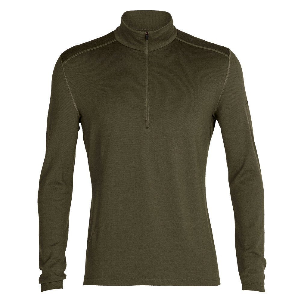 Merino pánské tričko Icebreaker 260 Tech LS Half Zip - velikost L