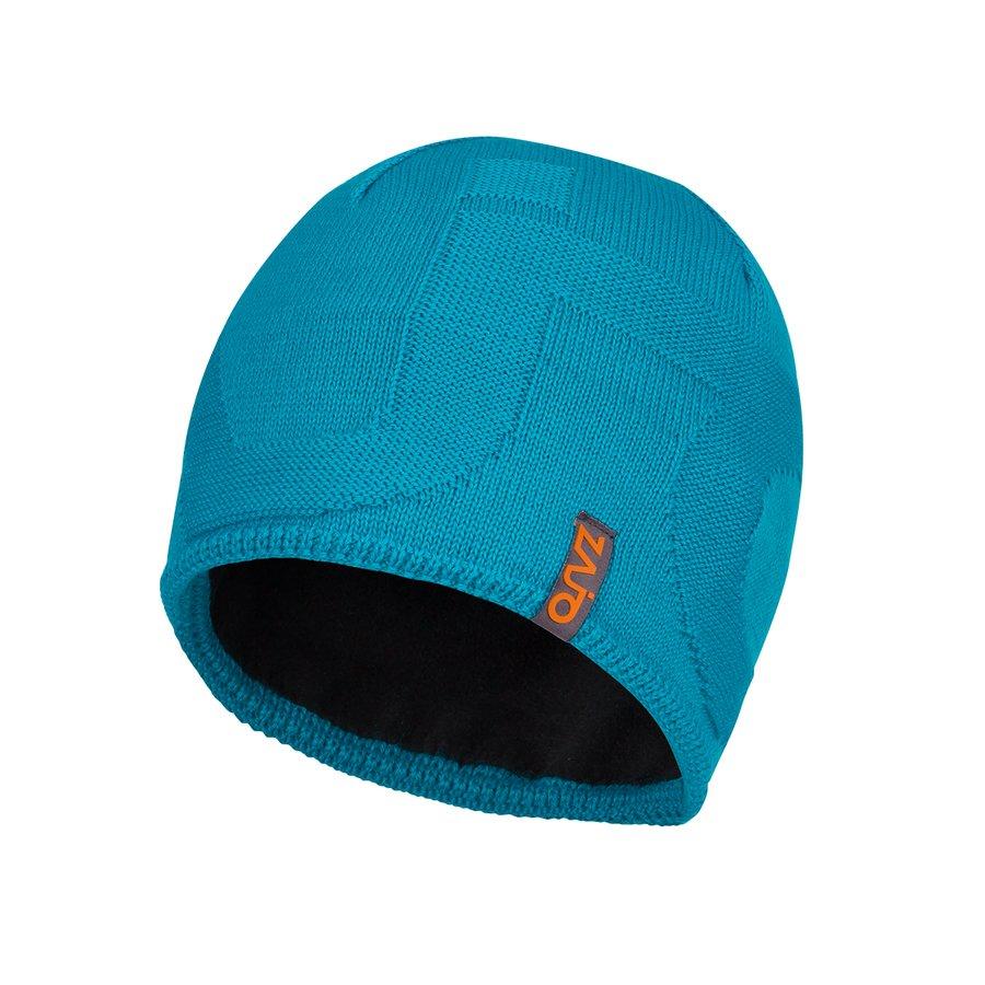 Modrá vlněná pánská čepice Riku M Beanie, Zajo - velikost M