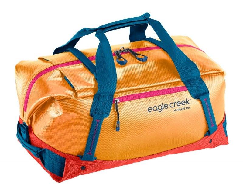 Oranžová cestovní taška Migrate Duffel, Eagle Creek - objem 40 l