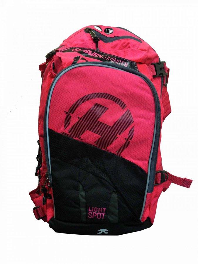 Růžový dámský batoh Haven - objem 18 l