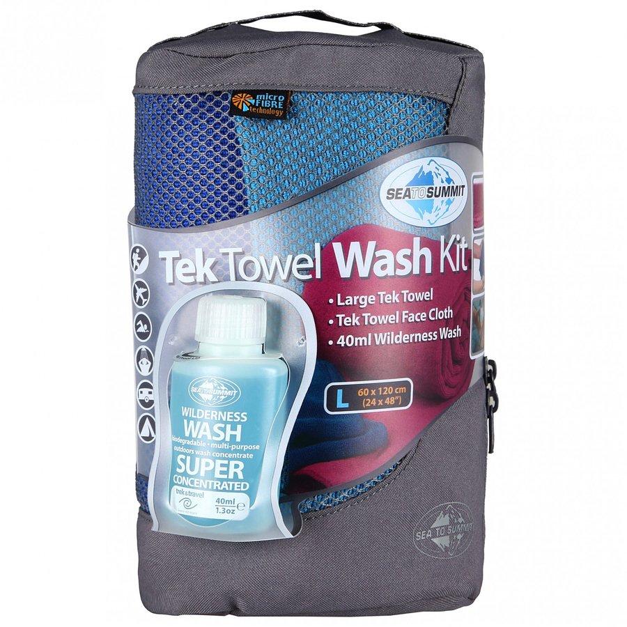 Rychleschnoucí ručník TEK TOWEL WASH KIT M, Sea to Summit - 50X100cm