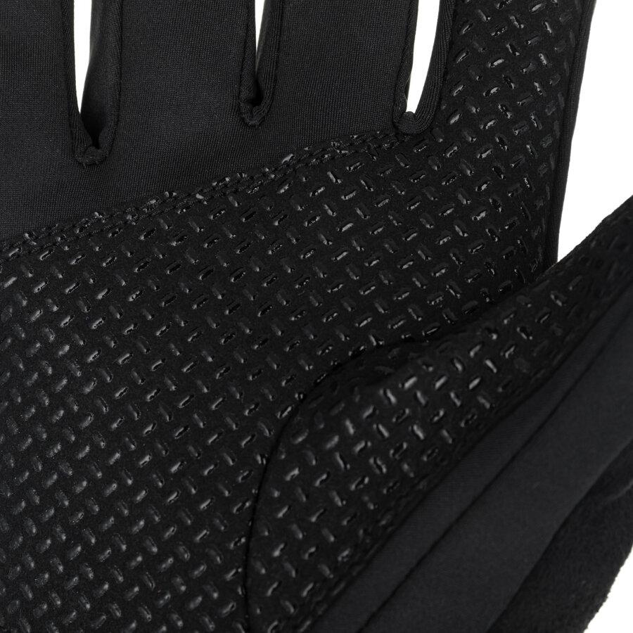 Černá softshellová rukavice Ramsau Gloves, Zajo - velikost L