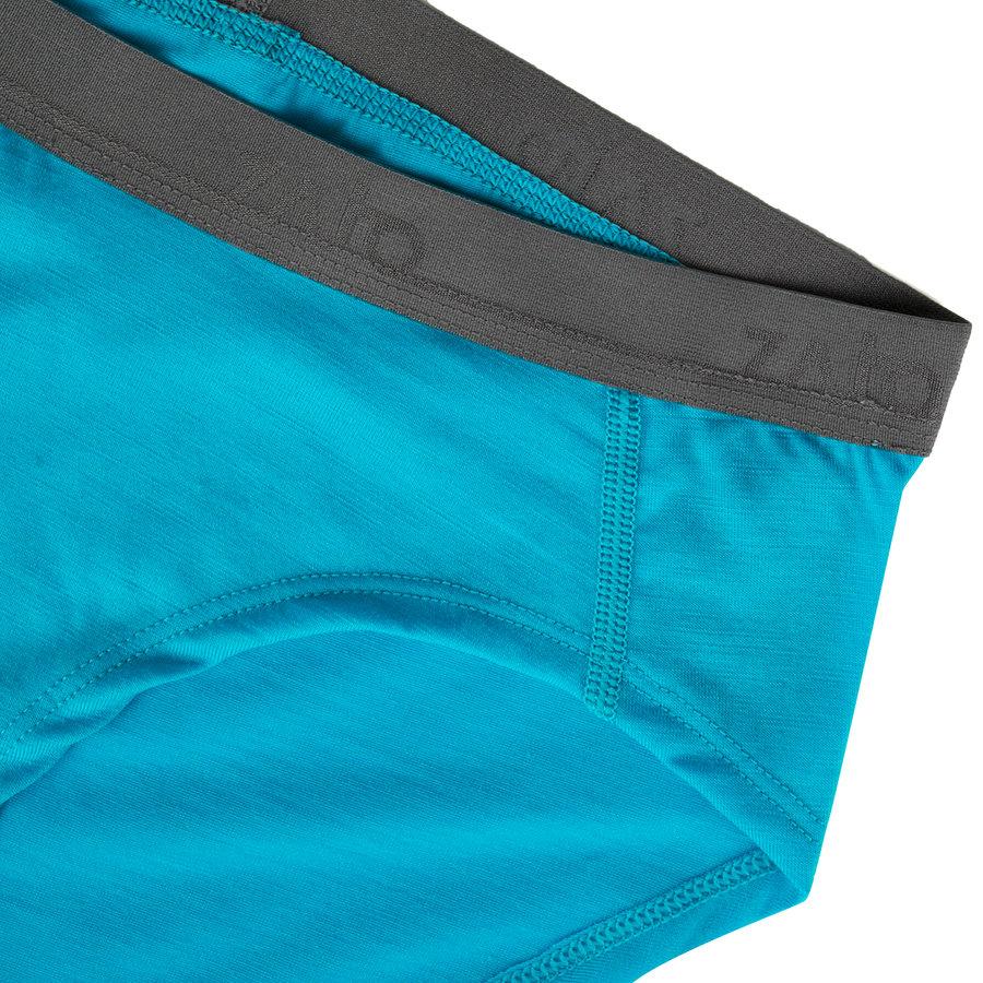 Černé dámské kalhotky Elsa Merino W Briefs, Zajo - velikost XS