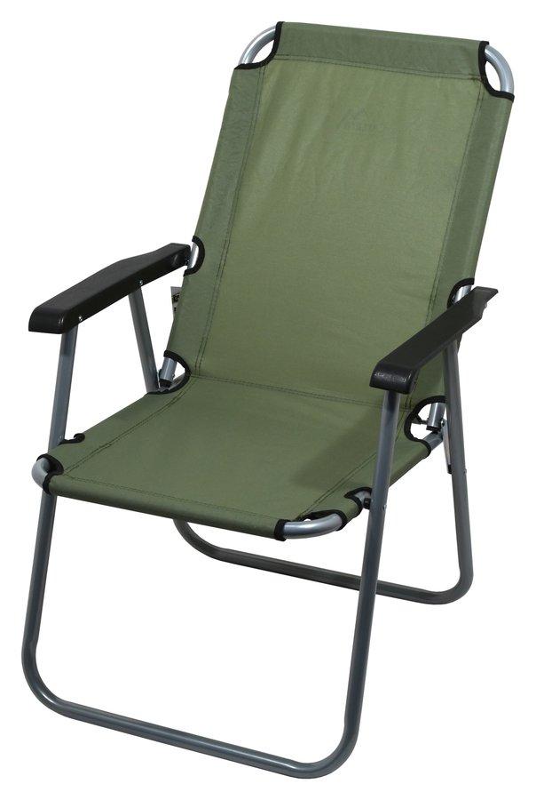 Zelená skladací židle Cattara LYON